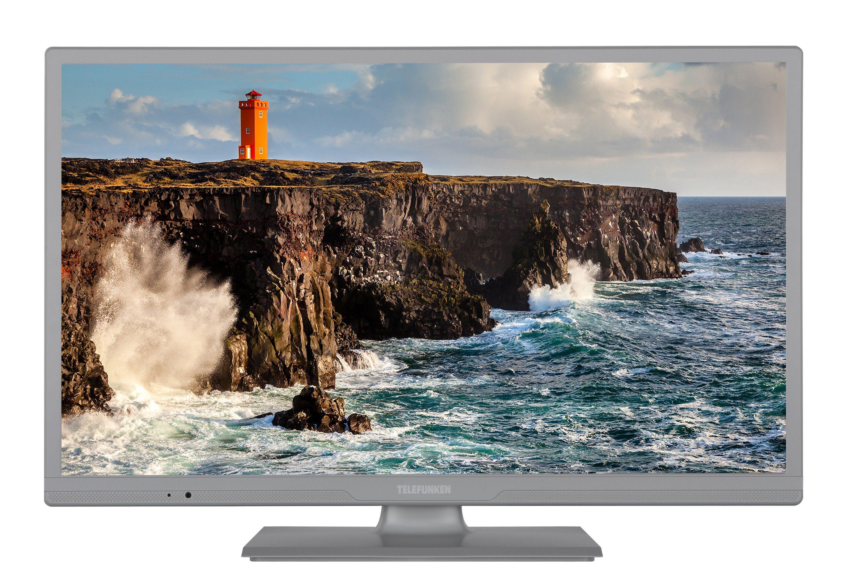 Telefunken LED-Fernseher (24 Zoll, HD-Ready, Triple-Tuner) »XH24D101 grau«
