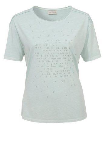 VIA APPIA Zartes T-Shirt mit Lettern
