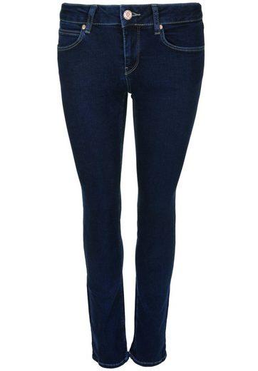 Gin Tonic 5-pocket-jeans Straight Plain Dark