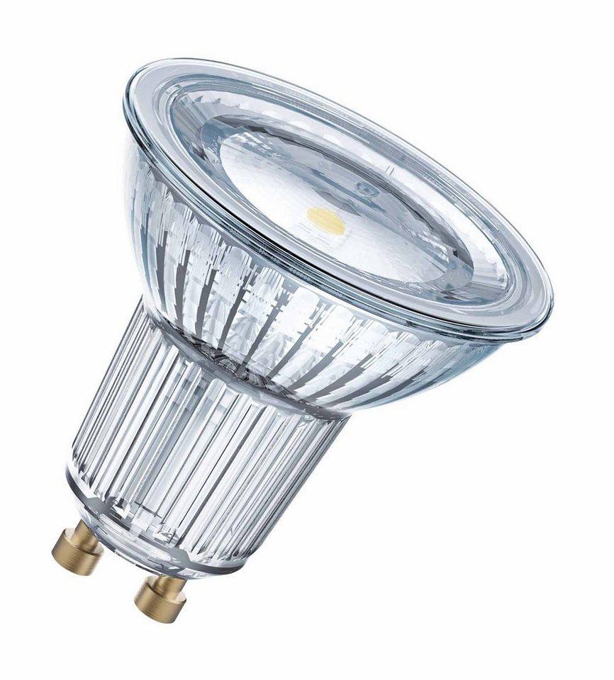 osram led superstar dimmbare lampe retrofit stecksockel sst par16 80 120 7 2w 827 gu10. Black Bedroom Furniture Sets. Home Design Ideas