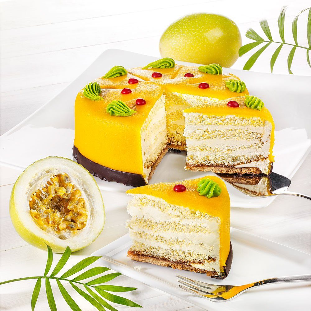 Rabbel Maracuja Desserttorte