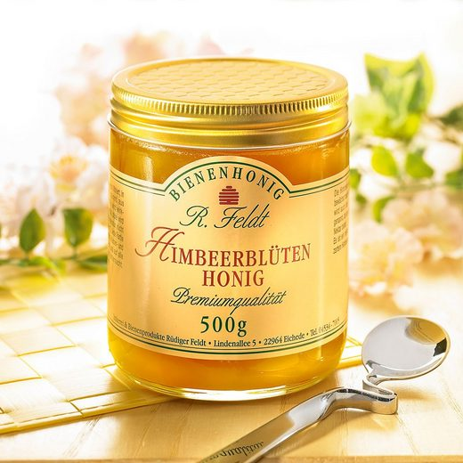 Feldt Honig Himbeerblüten