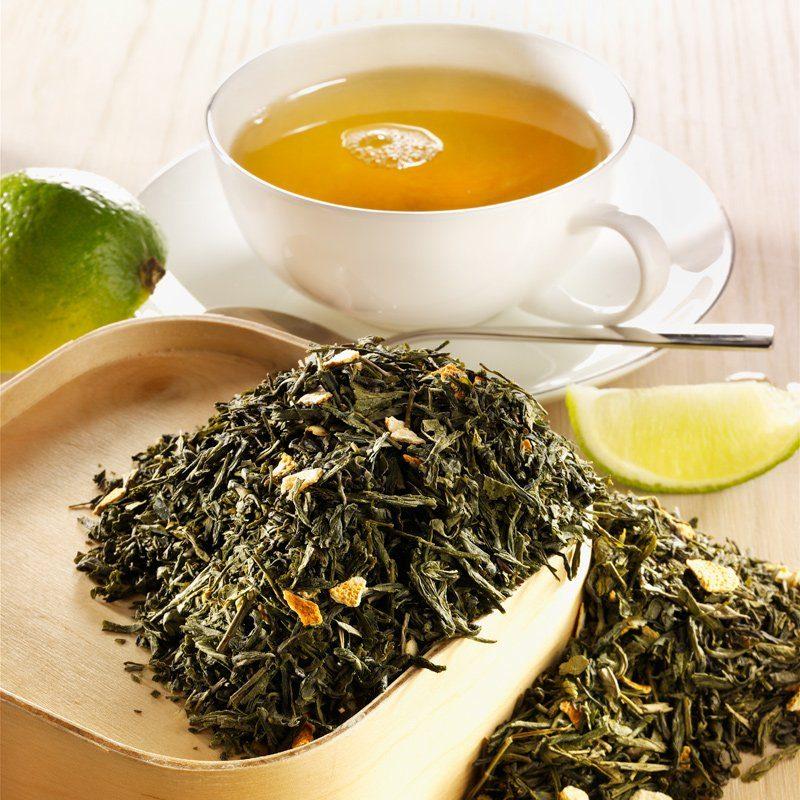 Rauf Tee Rauf Tee aromatisierter grüner Tee Sencha Lemon