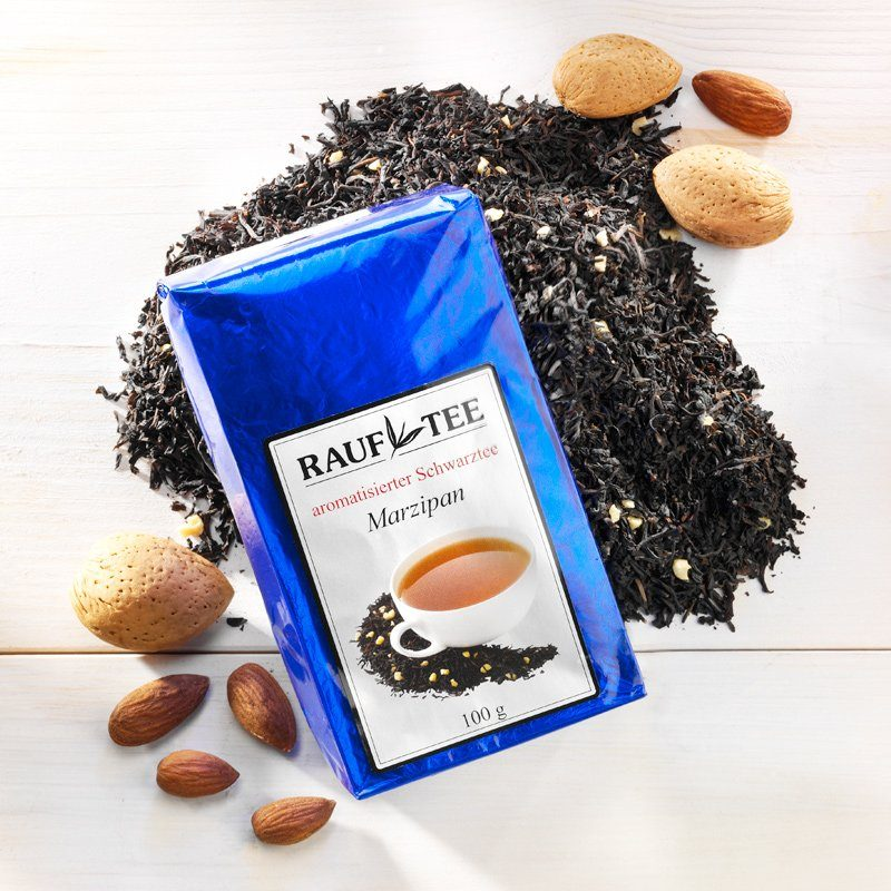 Rauf Tee Rauf Tee aromatisierter schwarzer Tee Marzipan
