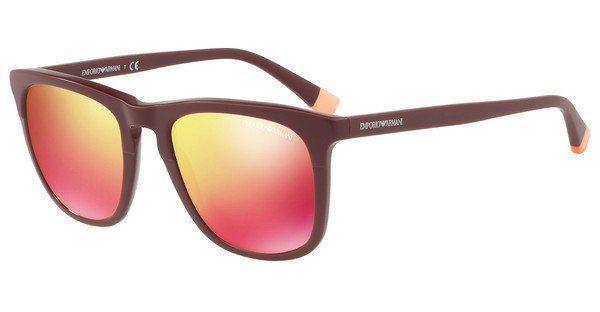 Emporio Armani Herren Sonnenbrille » EA4105«, rot, 55986Q - rot/rot