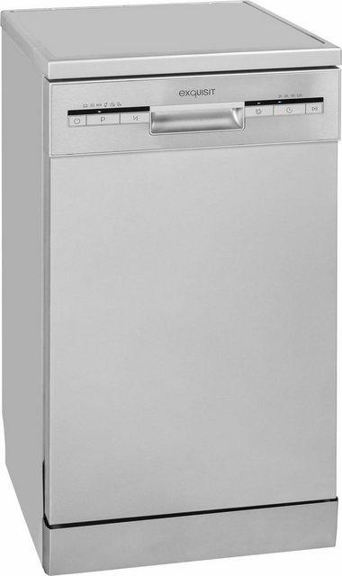 Küchengroßgeräte - exquisit Unterbaugeschirrspüler, GSP 9109.1 si, 9 l, 9 Maßgedecke, 45 cm breit  - Onlineshop OTTO
