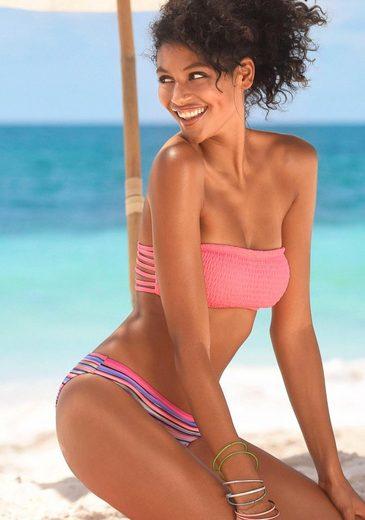 Homeboy Bikini-Hose »Kuba«, in klassischer Form mit Glanzstreifen