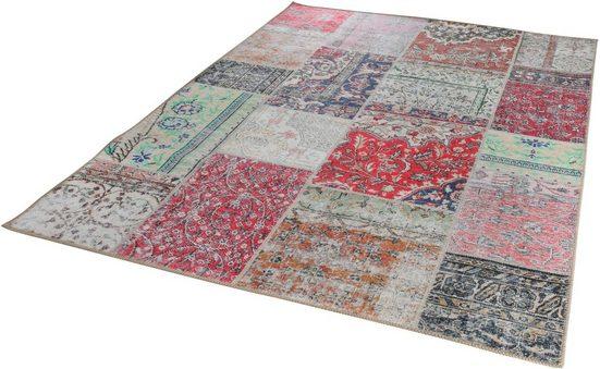 Teppich »Essenza«, LUXOR living, rechteckig, Höhe 4 mm, besonders weich durch Microfaser, Wohnzimmer