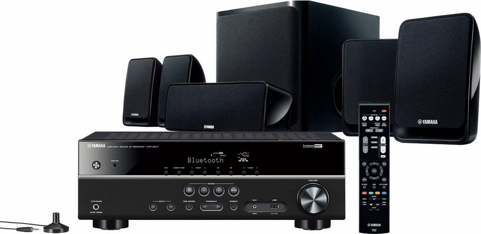 yamaha yht 2940 eu 5 1 heimkinosystem subwoofer. Black Bedroom Furniture Sets. Home Design Ideas