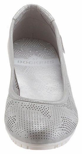 Dockers by Gerli Sneaker Ballerinas, mit Perforation