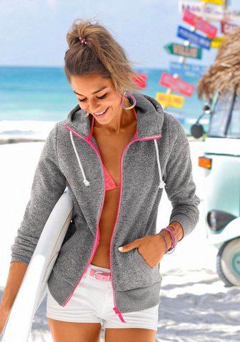VENICE BEACH Megztinis su gobtuvu