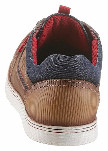 s.Oliver RED LABEL Sneaker, mit Ziernöhten und Used-Look