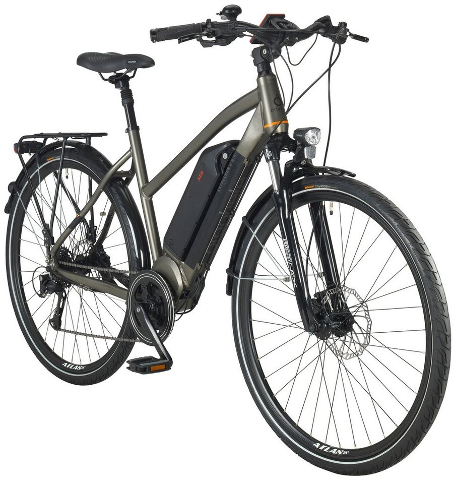 prophete e bike trekking damen entdecker e8 7 28 zoll 8 gang aeg mittelmotor 374 wh online. Black Bedroom Furniture Sets. Home Design Ideas
