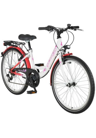 LEADER Vaikiškas dviratis Mädchen »Queeny« 24...