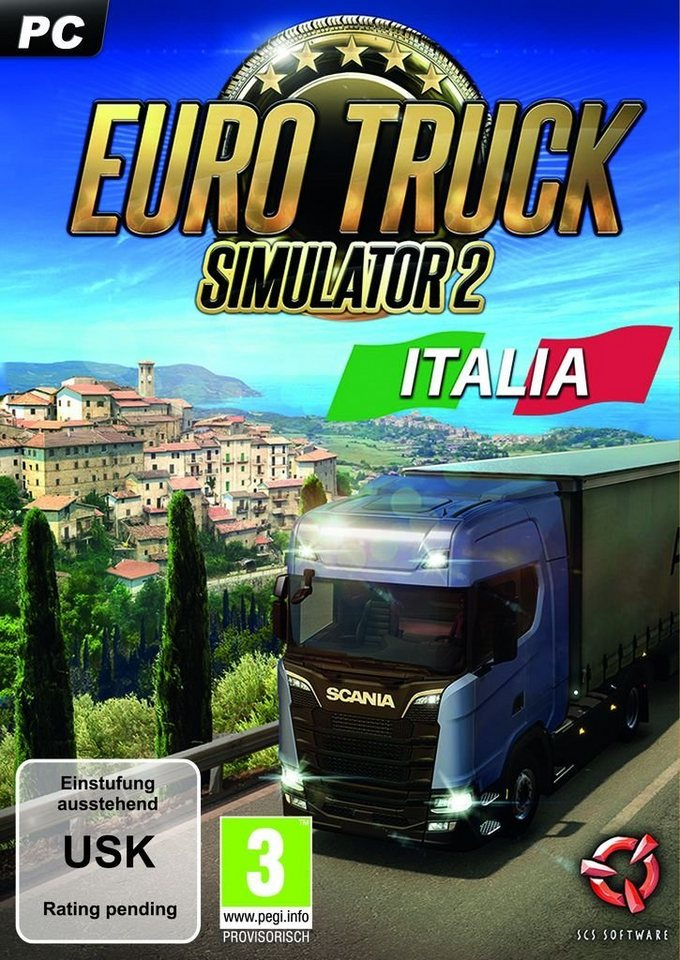 astragon pc spiel euro truck simulator 2 italia. Black Bedroom Furniture Sets. Home Design Ideas
