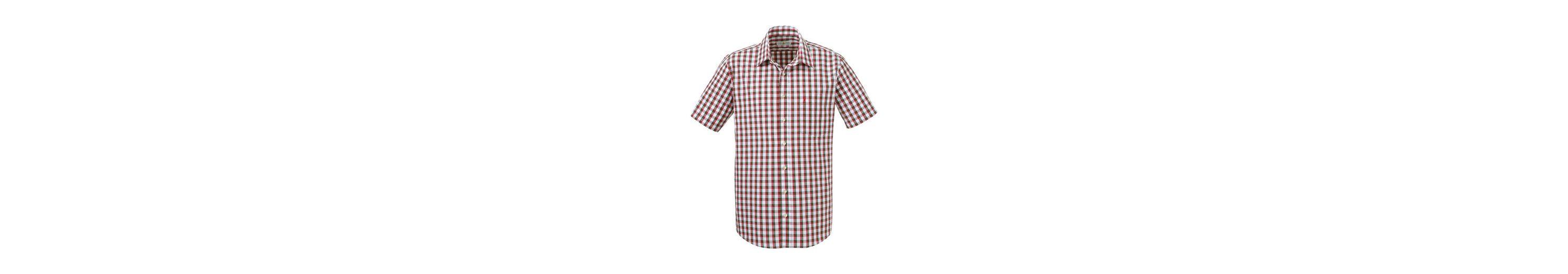 Almsach Trachtenhemd kariert in frischer Farbkombination