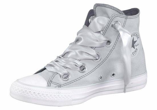 Converse Chuck Taylor All Star Hi Big Eyelet Sneaker, Satinschnürbänder