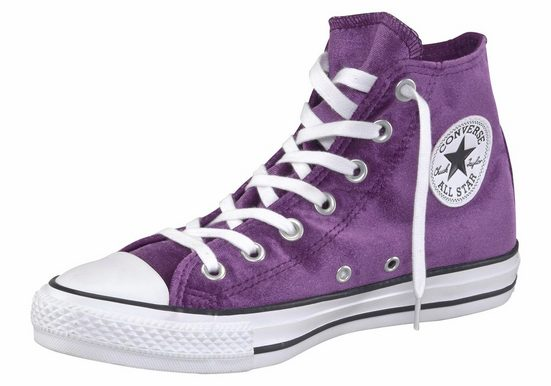 Converse »Chuck Taylor All Star Hi« Sneaker Samt