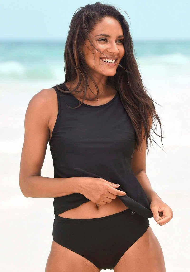 LASCANA Bikini-Hose, mit höher geschnittener Form