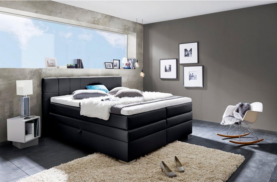 inosign boxspringbett airdrie mit bettkasten otto. Black Bedroom Furniture Sets. Home Design Ideas