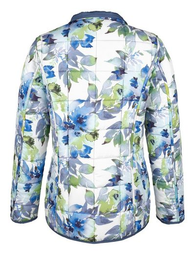 Paola Turn Jacket With Floral Print
