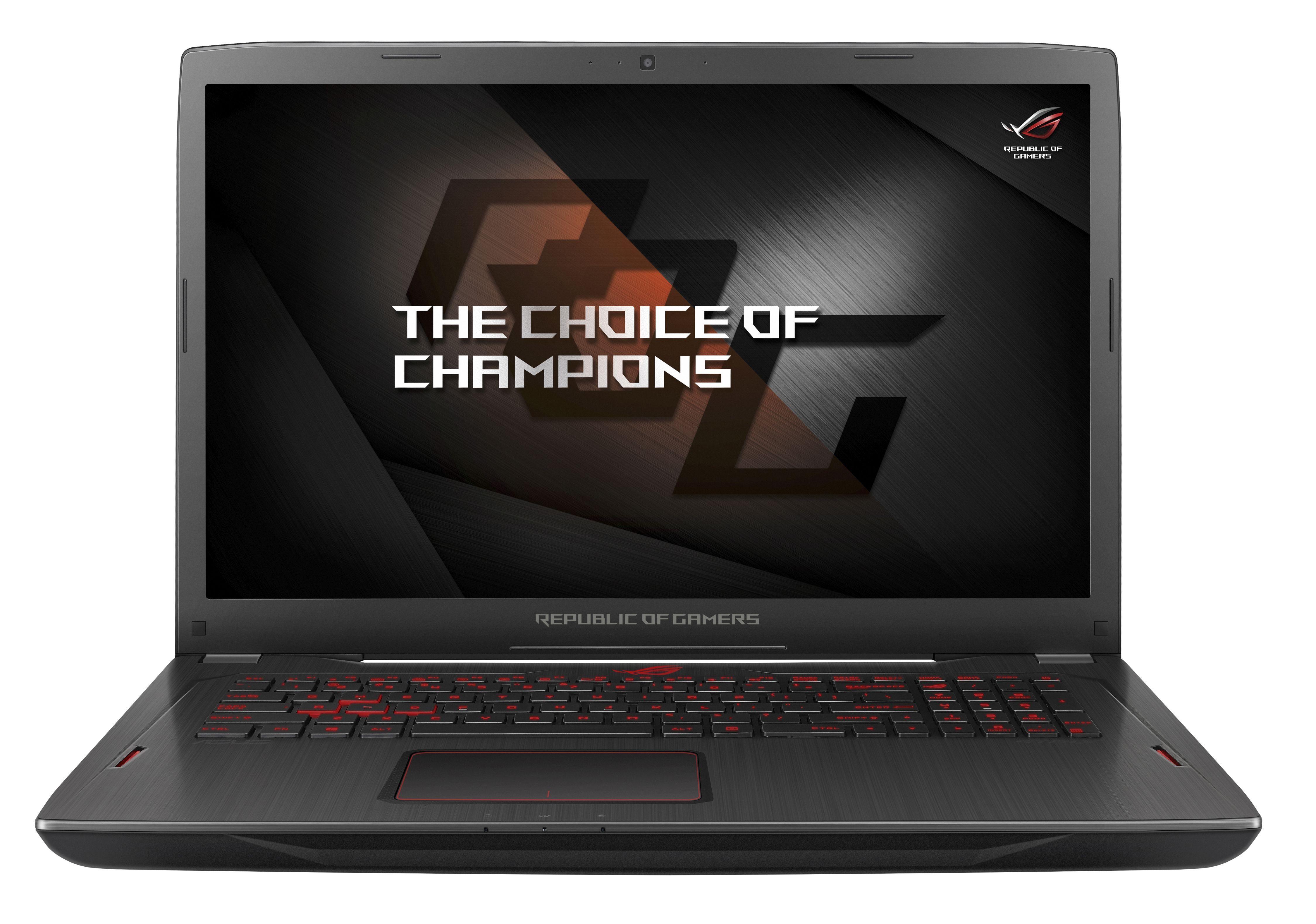 "ASUS ROG GL702ZC-GC104T Gaming-Notebook »AMD RYZEN 7, 43,9cm (17,3""), 256GB+1TB, 16GB«"