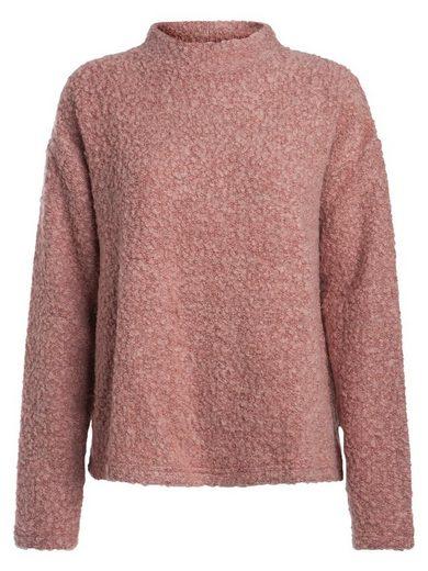 Pieces Stehkragen Sweatshirt