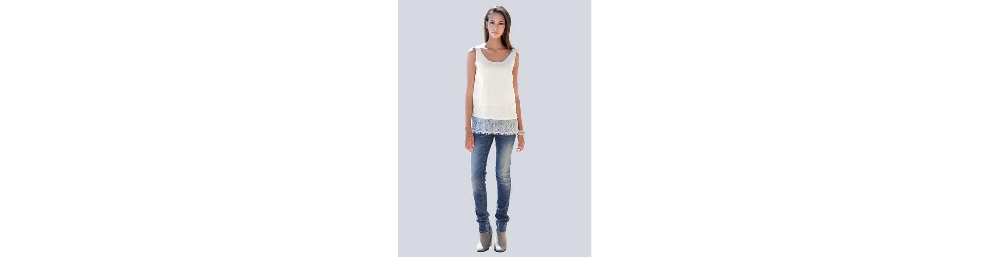 Alba Moda Jeans mit Nietenapplikationen in Herzform Sneakernews Kaufen Authentische Online Shop Online-Verkauf Spielraum Gut Verkaufen Sammlungen mnLs9zJkY