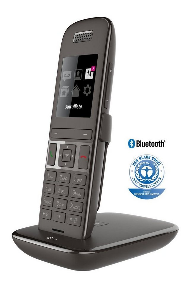 telekom telefon analog schnurlos speedphone 51 mit basis. Black Bedroom Furniture Sets. Home Design Ideas