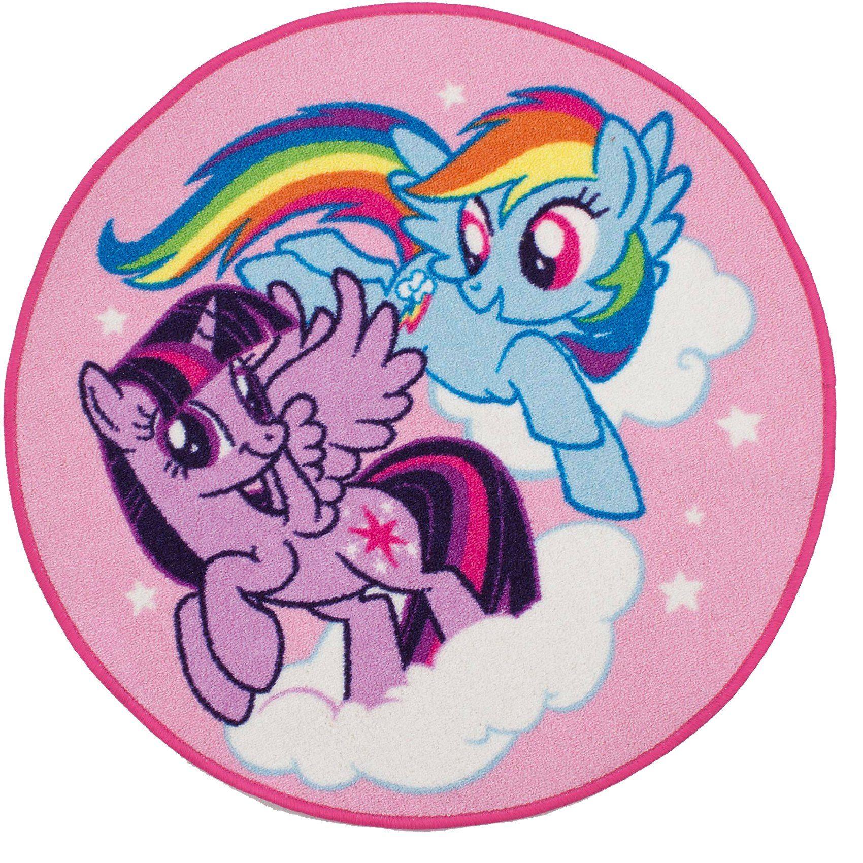 Kinderteppich My little Pony, 80 x 80 cm