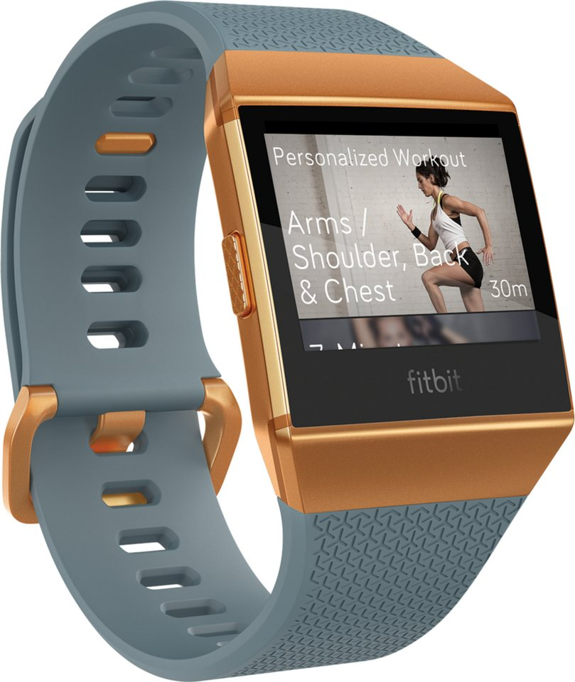 fitbit health fitness smartwatch ionic kaufen otto. Black Bedroom Furniture Sets. Home Design Ideas