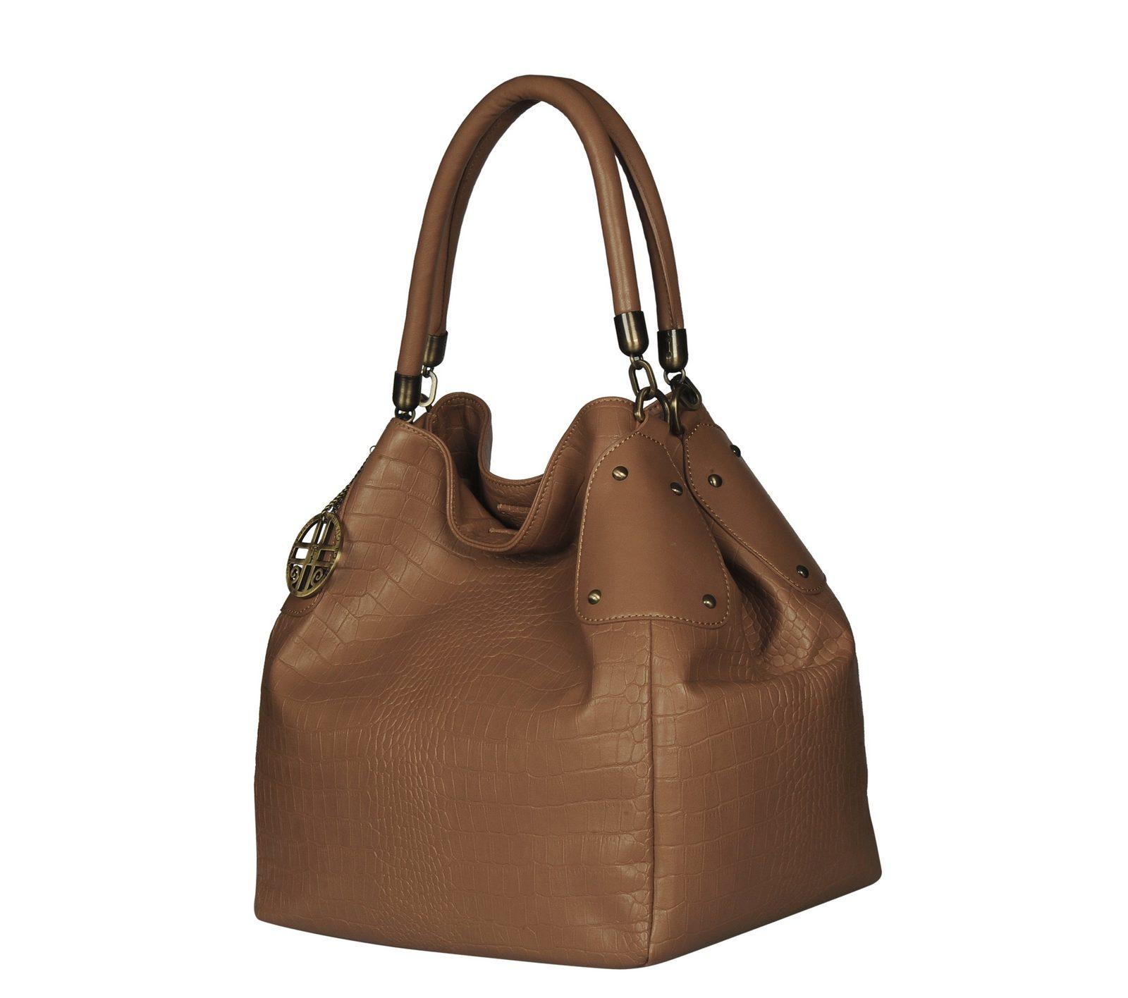 Silvio Tossi Handtasche im Krokodil-Design jetztbilligerkaufen