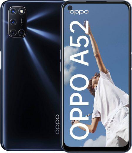 Oppo A52 Smartphone (16,5 cm/6,5 Zoll, 64 GB Speicherplatz, 12 MP Kamera)