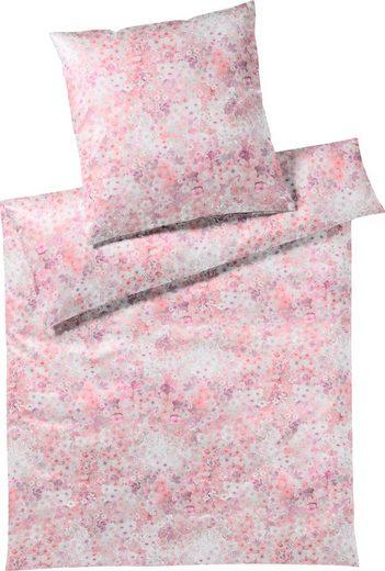 Bettwäsche »Fiori«, Elegante, mit filigranen Blumen