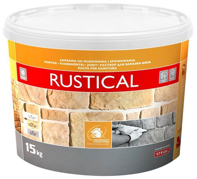 Stegu Fugenmörtel Rustical, weiß
