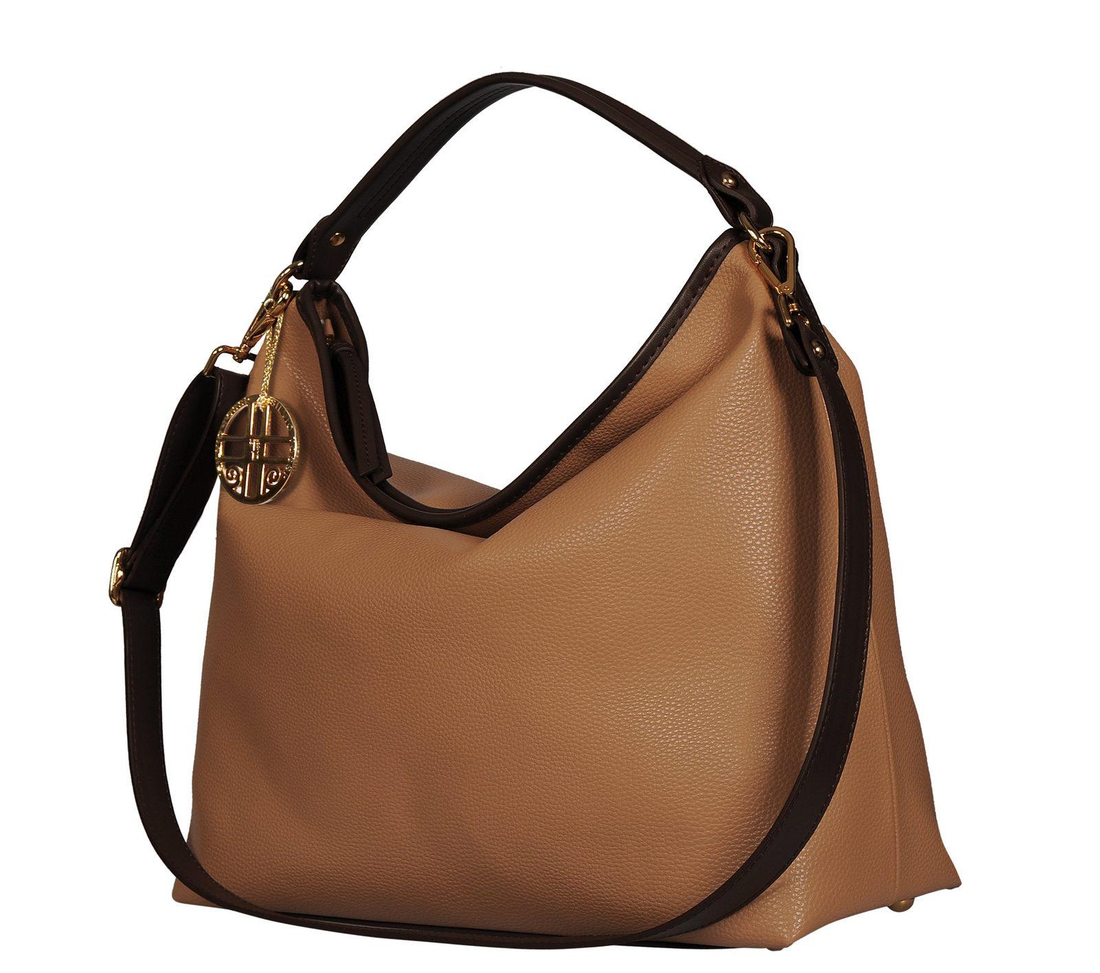 Silvio Tossi Handtasche mit Spezialschutzschicht - broschei