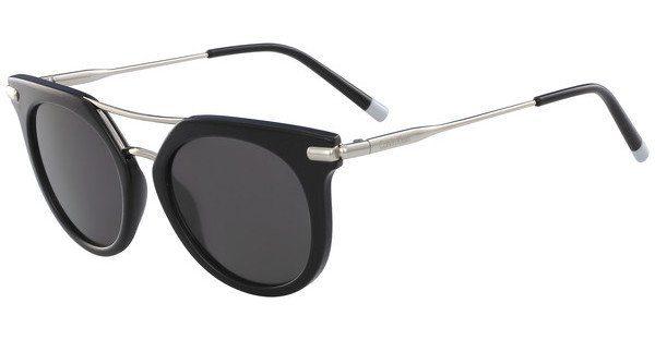 Calvin Klein Damen Sonnenbrille » CK1232S«, schwarz, 002 - schwarz/grau