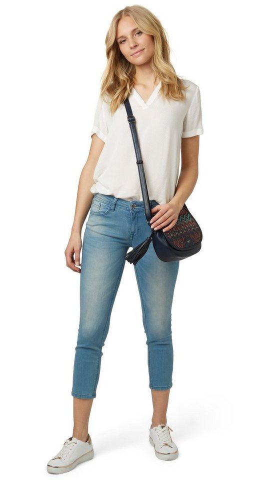 Tom Tailor 7/8-Jeans »Alexa Slim in 7/8 Länge«, Unifarben