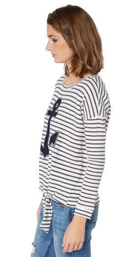 Tom Tailor Denim Sweatshirt mit Knoten-Detail