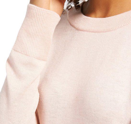 Tom Tailor Strickpullover schlichter Pullover