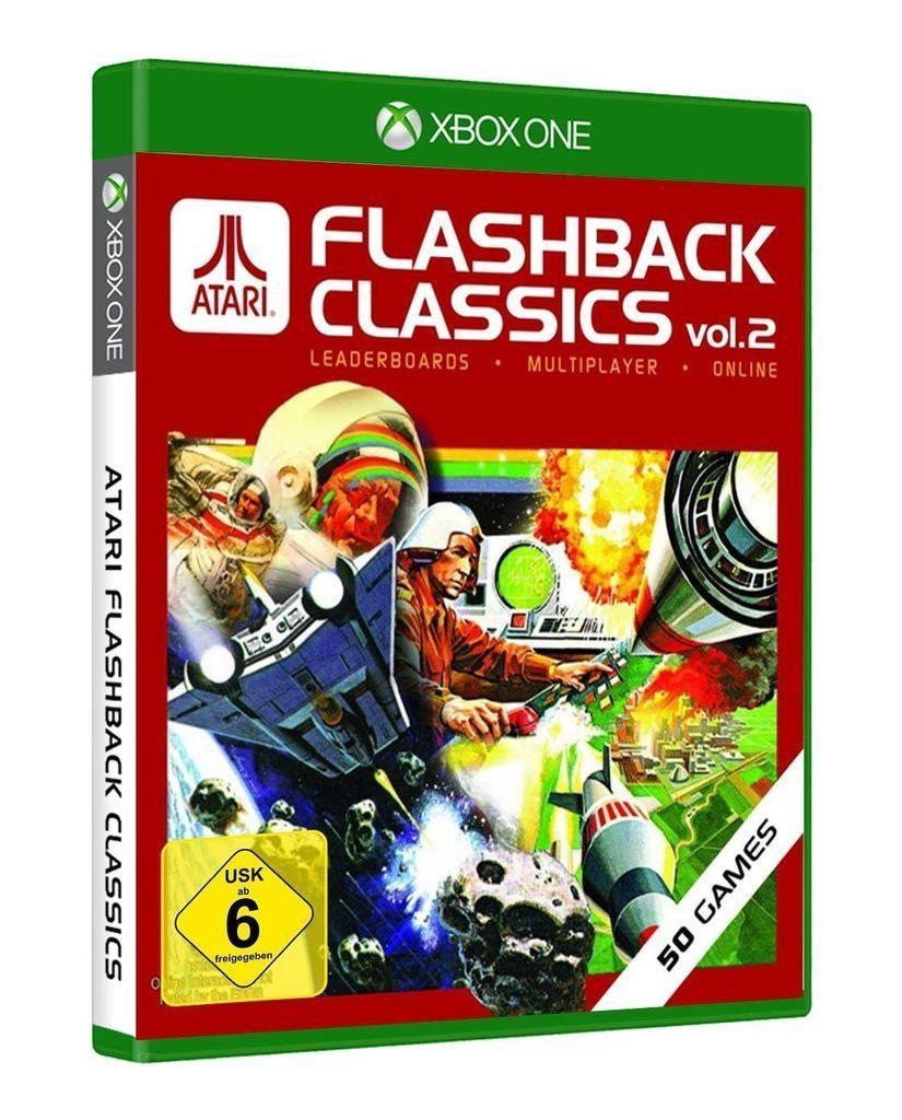 PQube XBOX One - Spiel »Atari Flashback Classics Vol. 2«