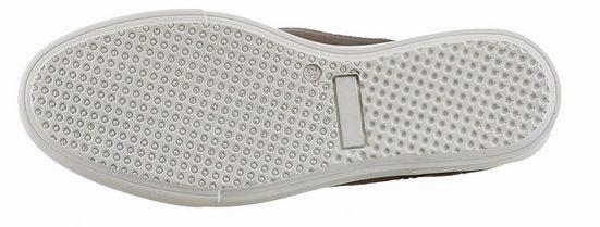 Petrolio Sneaker, In Materialmix