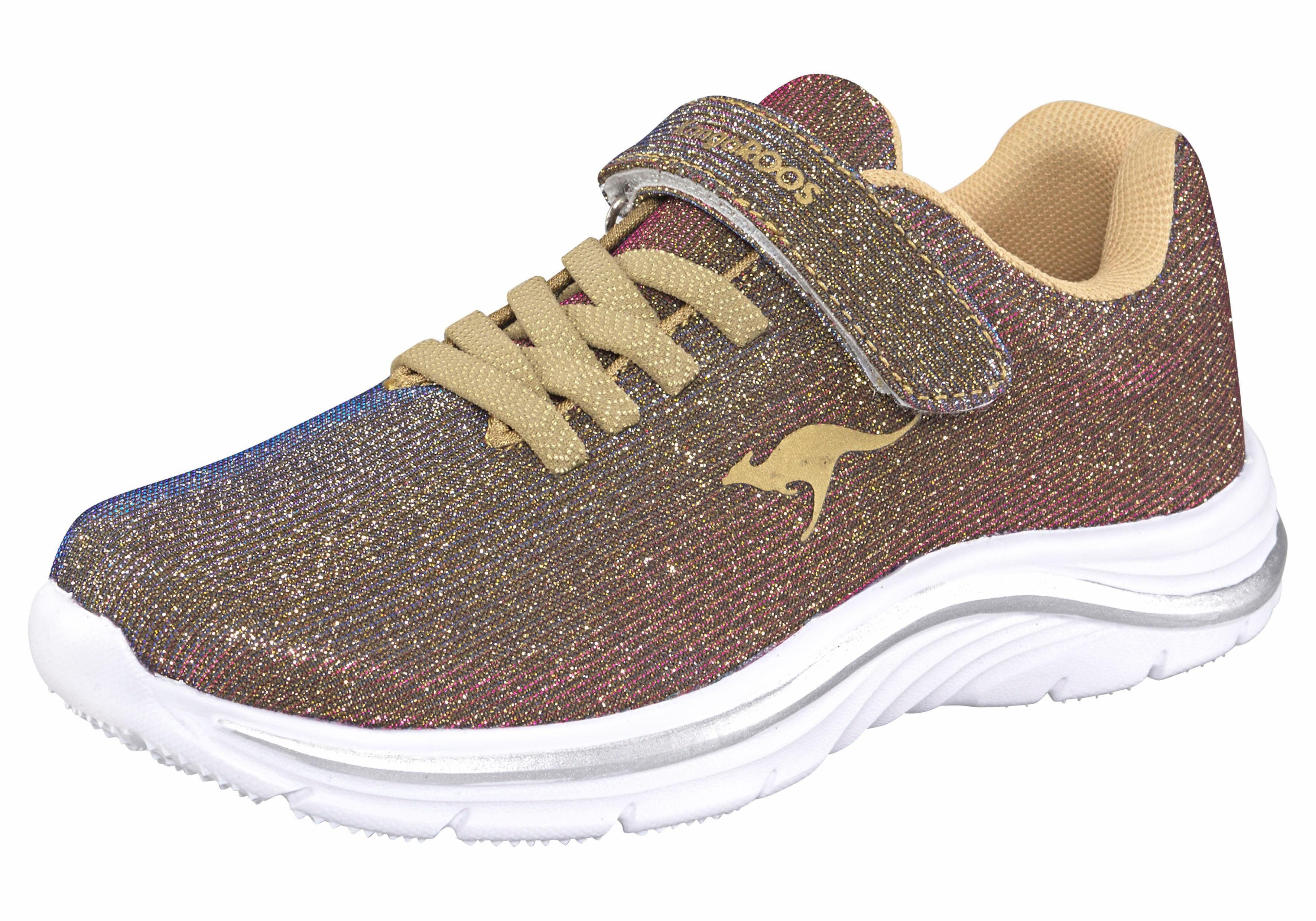 Kangaroos® Damen Sneaker changierend, goldfarben