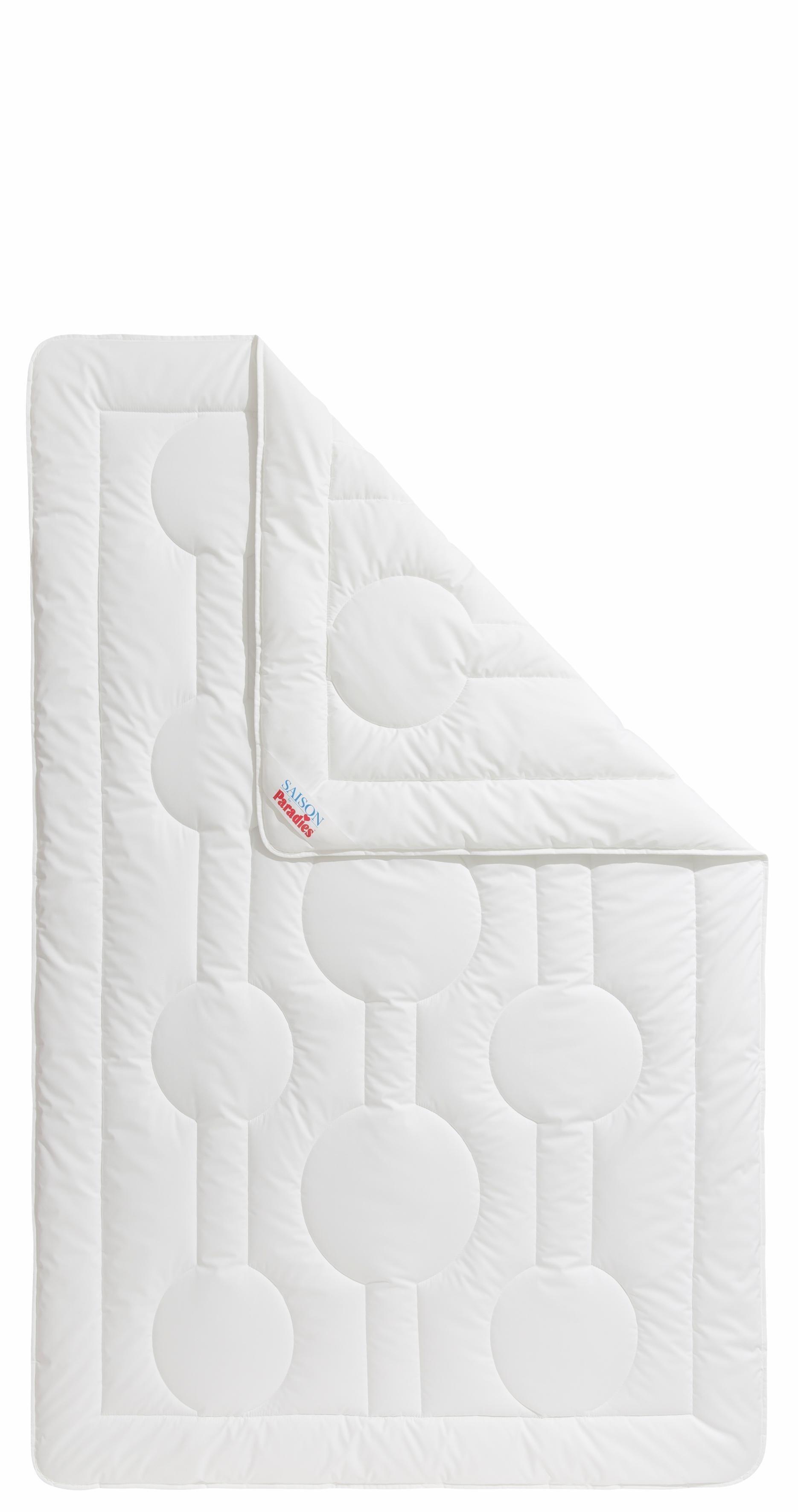 Microfaserbettdecke, »Holstein-Light SU 17«, Paradies, leicht, (1-tlg) | Heimtextilien > Decken und Kissen > Bettdecken | Baumwolle | Paradies