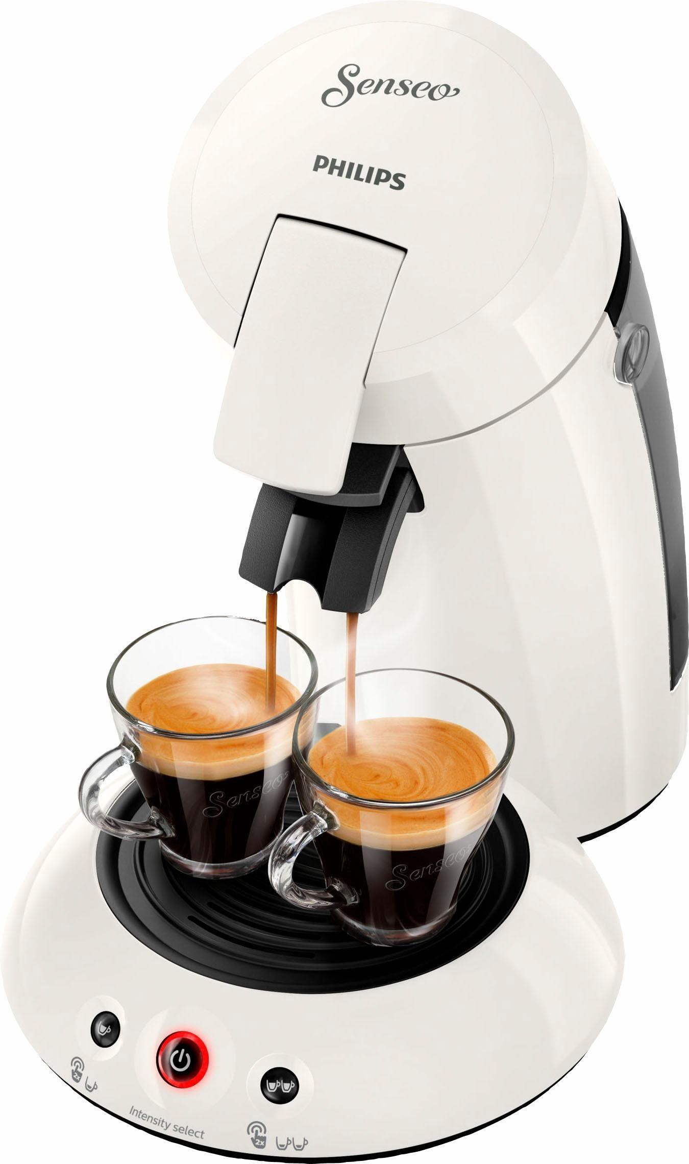 Senseo Kaffeepadmaschine HD6554/10 New Original, mit Crema Plus und Kaffeestärkewahl