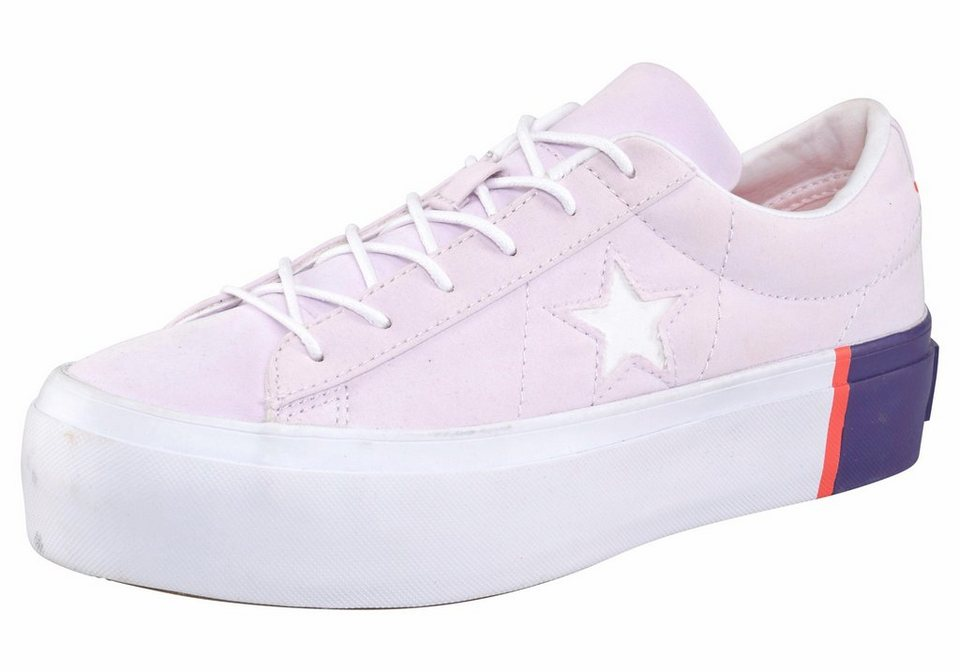 low priced 9b45e 6bed7 Converse »One Star Platform« Plateausneaker Plateau online kaufen | OTTO