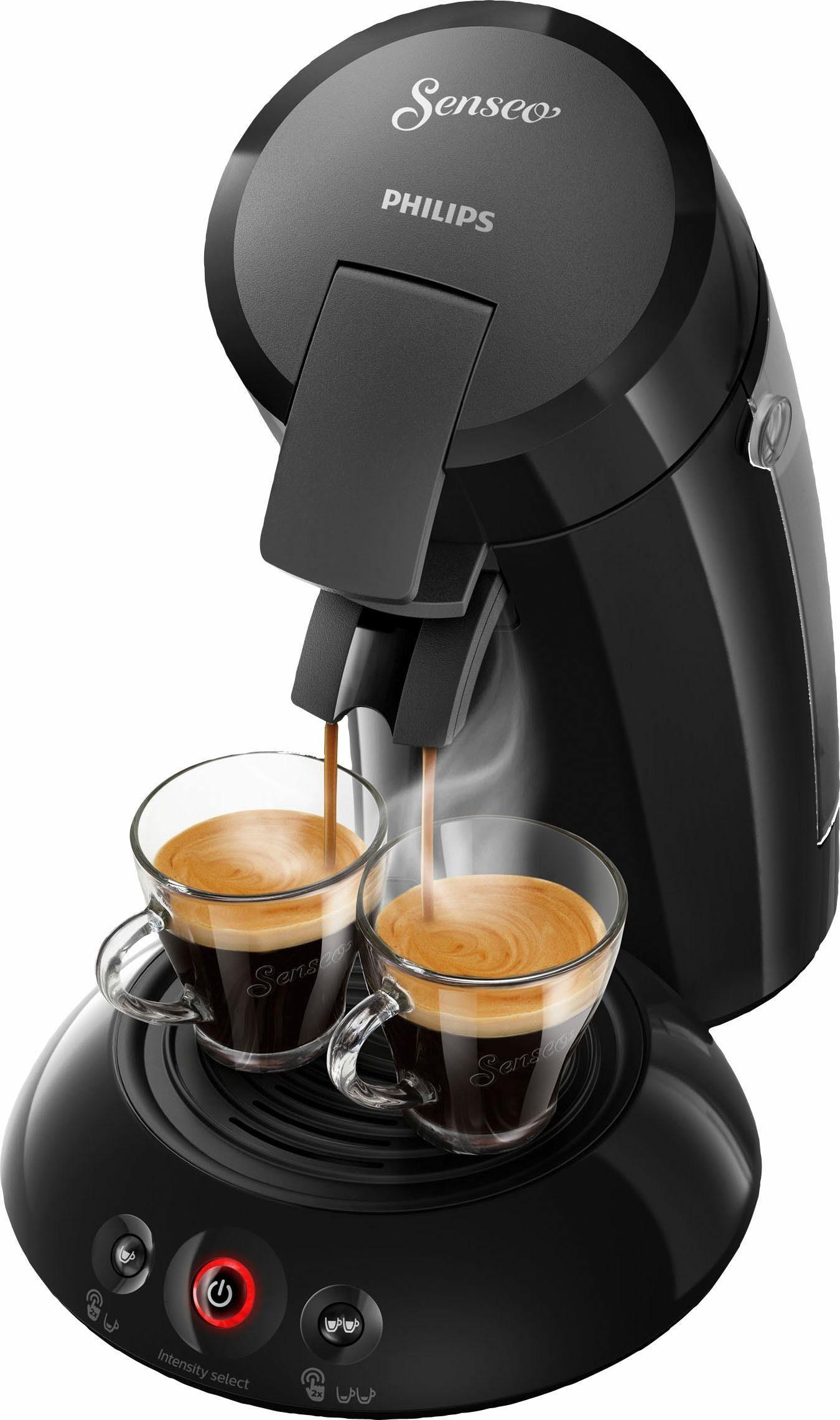 Senseo Kaffeepadmaschine HD6554/68 New Original, mit Crema Plus und Kaffeestärkewahl