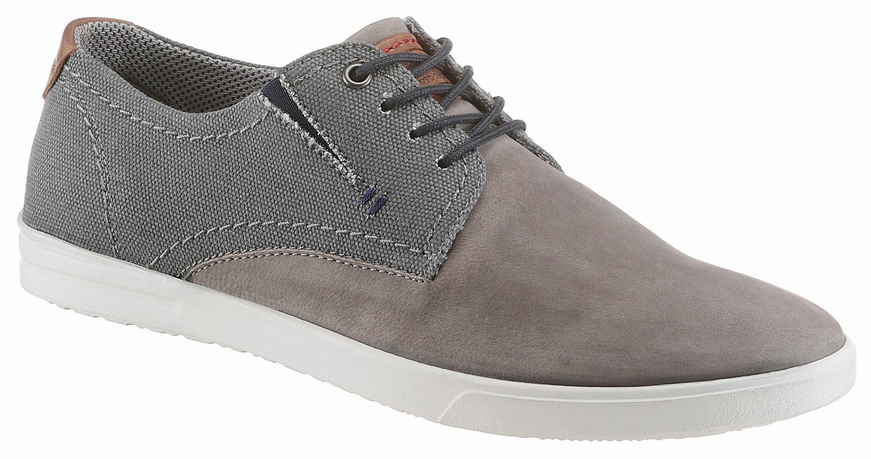 PETROLIO Sneaker, im Materialmix online kaufen  grau-used