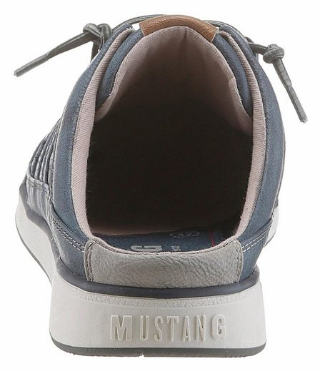 Perforierung Mit Shoes Modischer Clog Mustang pnY0AqSY
