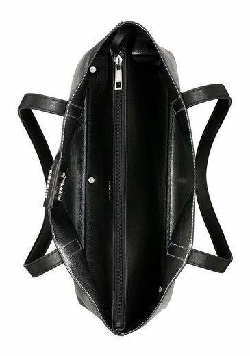 Replay Shopper Wendeshopper, zum Wenden, kann silber oder schwarz getragen werden